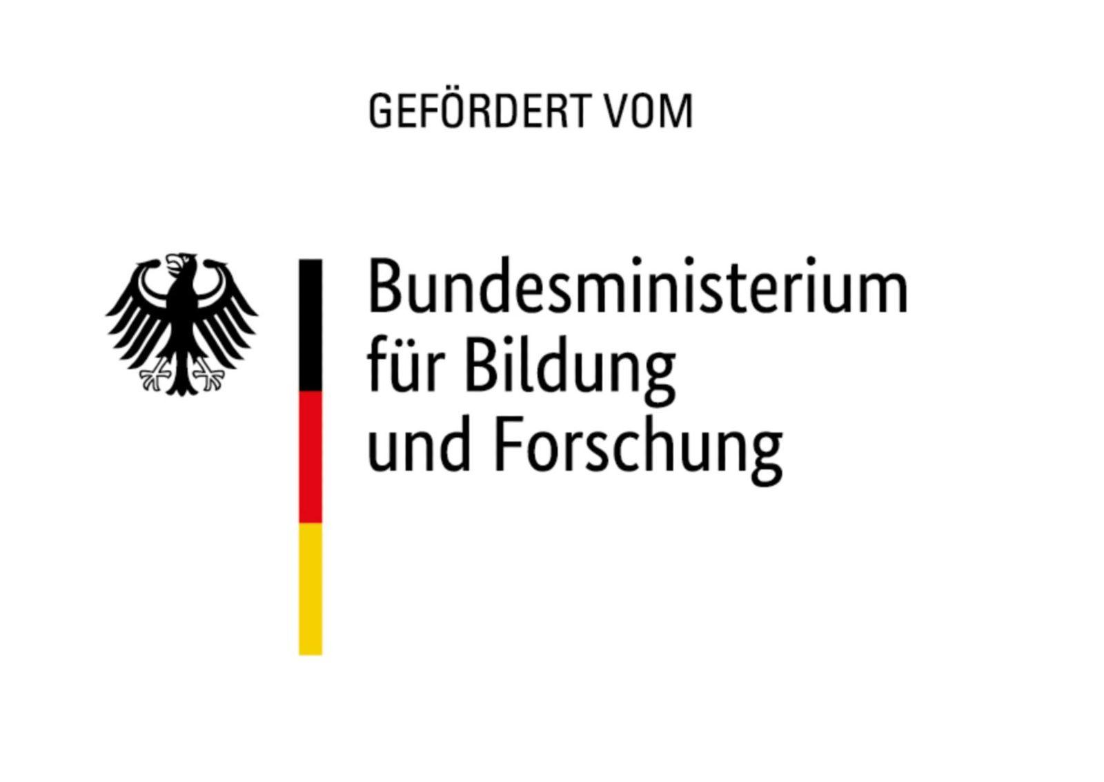 Das Bild zeigt das Logo des BMBF.